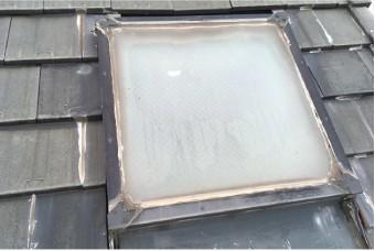 雨水防止の寿命を迎えている屋根材や防水紙