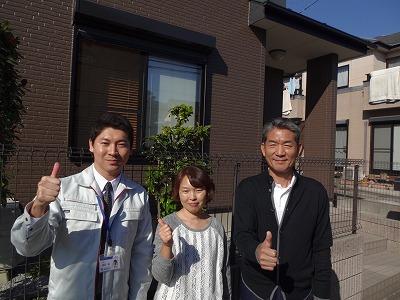 伊勢崎市連取元町T様 コロニアル屋根塗装工事後のお客様のお声