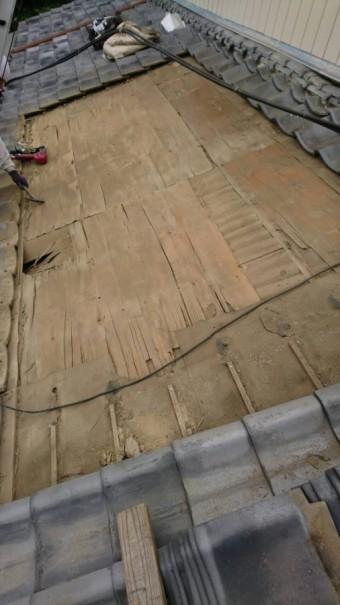 瓦 野地板