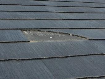屋根材 欠け