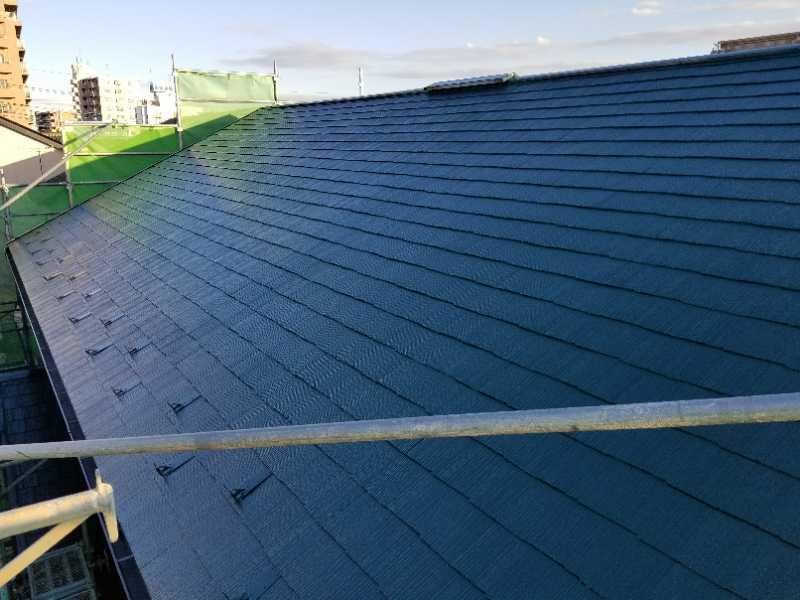 光沢のある屋根