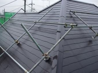 コロニアル屋根 完了
