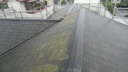 コロニアル屋根 施工前