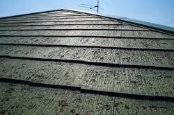 コロニアル屋根施工前
