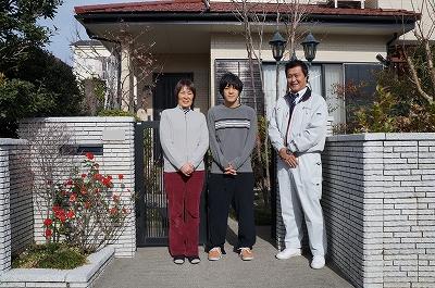 高崎市上大類町H様 コロニアル屋根塗装後のお声をいただきました。