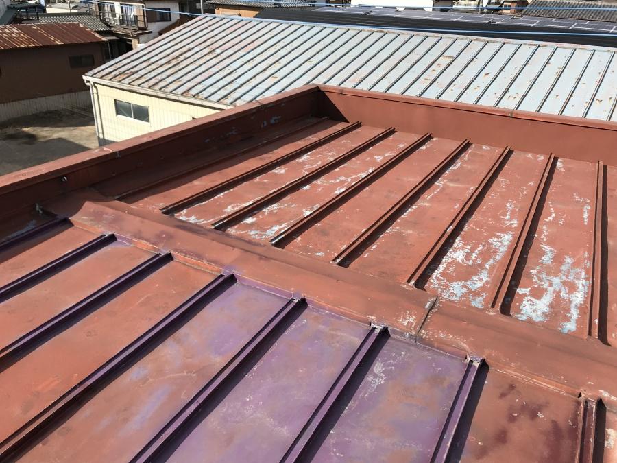 金属屋根 桟葺き屋根