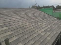 施工前 コロニアル屋根
