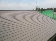 施工後 コロニアル屋根
