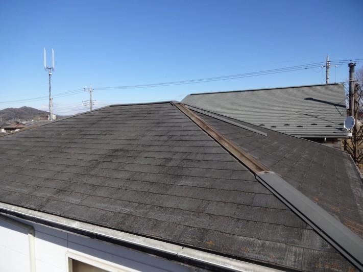 屋根 全体 棟板金