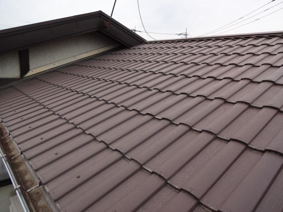 前橋市にて屋根・外壁塗装・雪の被害による各所破損のお見積りに行ってきました。