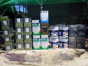 セメント瓦屋根外壁使用材料